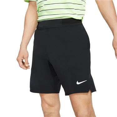 Nike Court Flex Ace 9 inch Short Mens Black/White CI9162 010