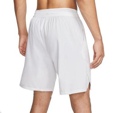 Nike Court Flex Ace 9 inch Short Mens White/Black CI9162 100