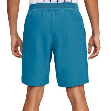 Nike Court Flex Ace 9 inch Short Mens Neo Turquoise/White CI9162 425