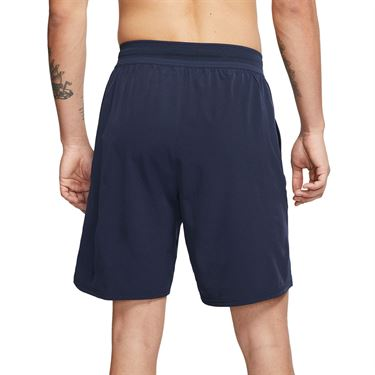 Nike Court Flex Ace 9 inch Short Mens Obsidian/White CI9162 451