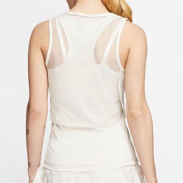 Nike Court Dri Fit Sleeveless Top Womens Light Orewood Brown/White CI9320 104