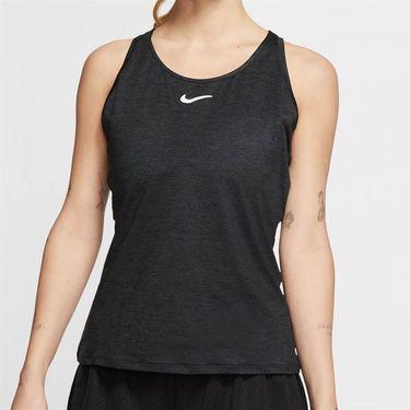 Nike Court Dri Fit Tank Womens Black/White CJ0942 010