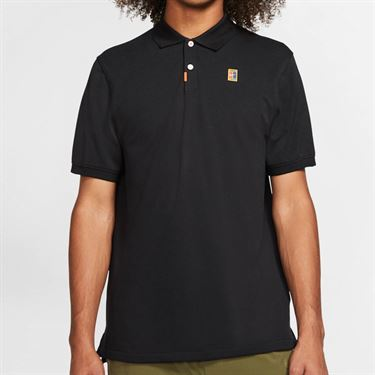 Nike The Nike Polo Shirt Mens Black CJ9524 010