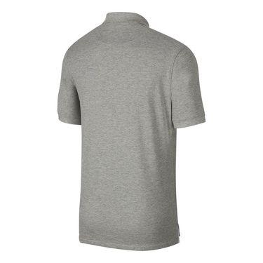 Nike The Nike Polo Shirt Mens Dark Grey Heather/Wolf Grey CJ9524 063