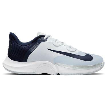 Nike Court Air Zoom GP Turbo Mens Tennis Shoe Pure Platinum/Obsidian/White CK7513 007