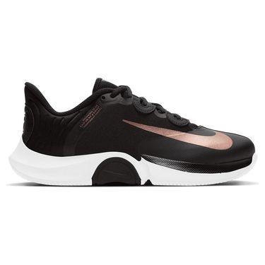 Nike Court Air Zoom GP Turbo Womens Tennis Shoe - Black/Bronze
