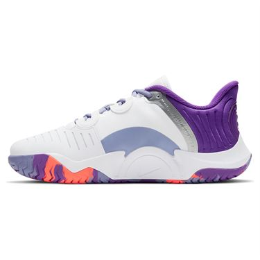 Nike Court Air Zoom GP Turbo Womens Tennis Shoe White/Wild Berry/Bright Mango CK7580 103
