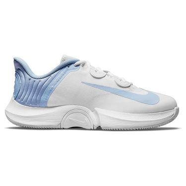 Nike Court Air Zoom GP Turbo Womens Tennis Shoe White/Aluminum/Pure Platinum CK7580 113