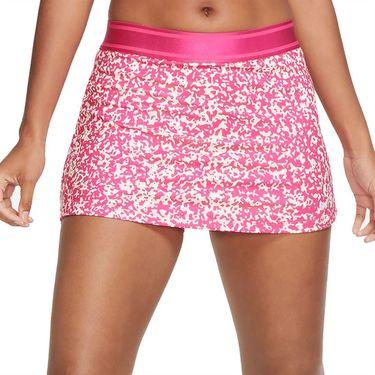 Nike Court Dri Fit Skirt Womens Vivid Pink/White CK8216 616