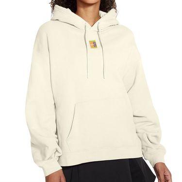 Nike Court Heritage Hoodie Womens Coconut Milk CK8447 113