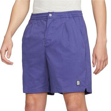 Nike Court Heritage Short - Dark Purple Dust