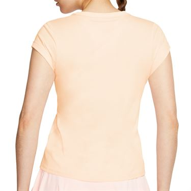 Nike Court Dri Fit Top Womens Guava Ice/White CQ5364 838