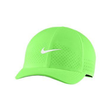 Nike Court Advantage Hat - Lime Glow/White