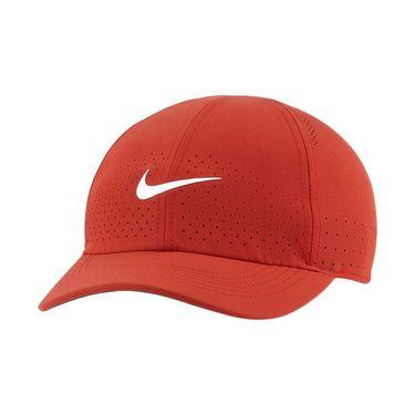 Nike Court Advantage Hat - Cinnabar/White