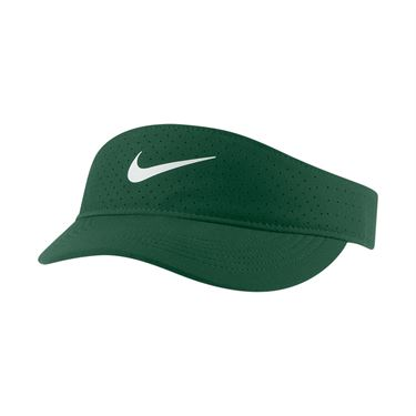Nike Court Womens Advantage Visor - Gorge Green/White