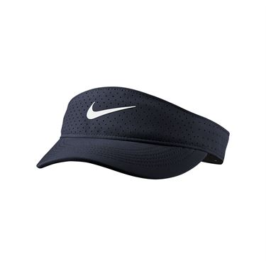 Nike Court Womens Advantage Visor - Obsidian/White
