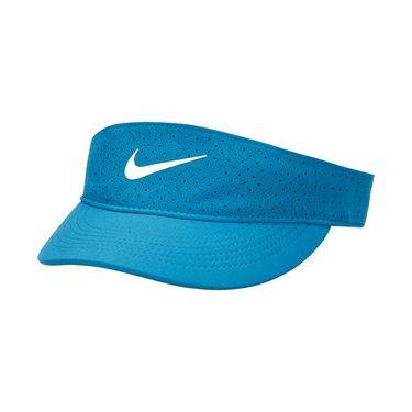 Nike Court Womens Advantage Visor - Brigade Blue/White