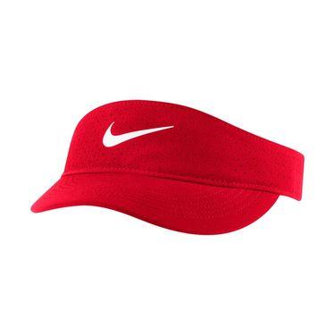 Nike Court Womens Advantage Visor - University Red/White
