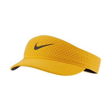 Nike Court Womens Advantage Visor - University Gold/Black