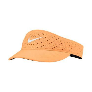 Nike Court Womens Advantage Visor - Peach Cream/White