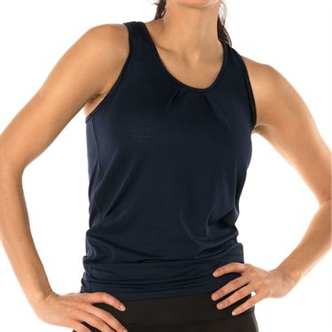 Lucky In Love Core Tie Back Tank Womens Midnight CT327 401