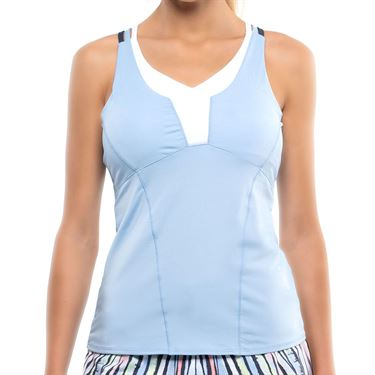 Lucky in Love Going Wild Double Cross Cami Womens Cloud CT349 418