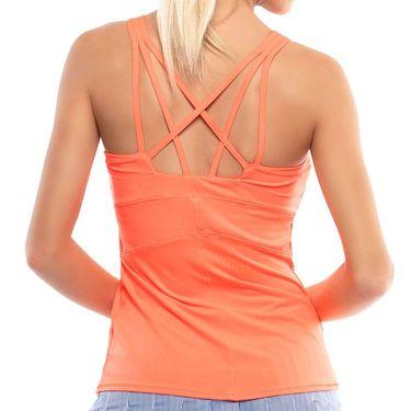 Lucky in Love Kinetic Energy Shock Cami w/Bra Womens Orange Glow CT407 810