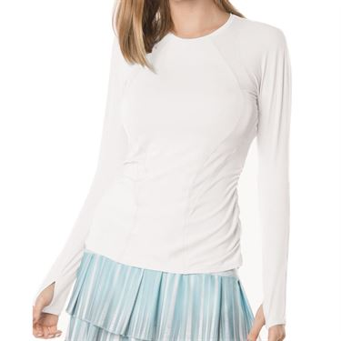 Lucky in Love Core Contour Long Sleeve - White