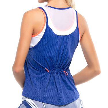 Lucky in Love Kinetic Energy Bungee Tank Womens Cobalt CT610 406