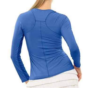 Lucky In Love LUV Breeze Long Sleeve Crew Womens Blue Marine CT634 430