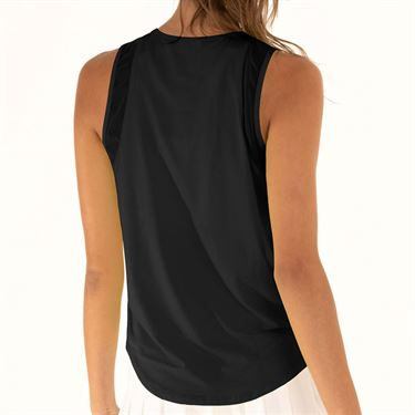 Lucky in Love LUV Protection Chill Out Tank Womens Black CT661 001