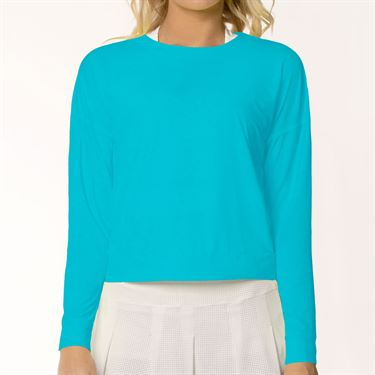 Lucky in Love L UV Protection Hype Long Sleeve Top Womens Breeze CT668 422