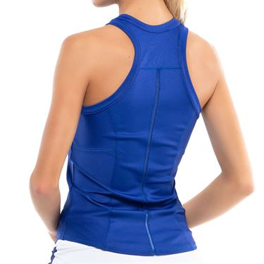 Lucky in Love Kinetic Energy One Love Rib Tank Womens Cobalt CT709 406