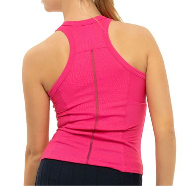 Lucky In Love Core One Love Rib Tank Womens Shocking Pink CT709 645