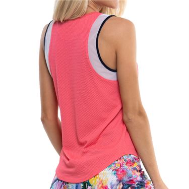 Lucky in Love Techno Tropic Wavy Chill Out Tank Womens Punch CT714 675