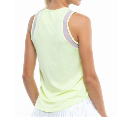 Lucky in Love Going Wild Chill Out Tank Womens Lemon Frost CT771 718