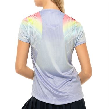 Lucky in Love Count Me In Count On Me Top Womens Blue Marine CT772 G55430