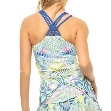 Lucky in Love Count Me In Flow Motion Cami Womens Blue Marine CT784 G67430