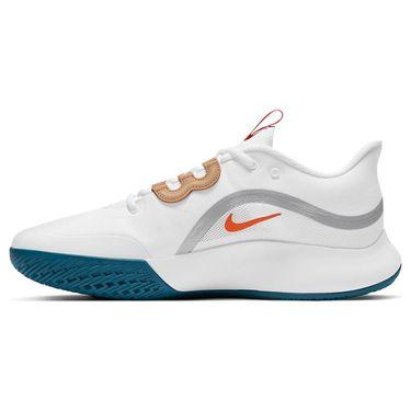 Nike Court Air Max Volley Mens Tennis Shoe White/Team Orange/Green Abyss CU4274 101