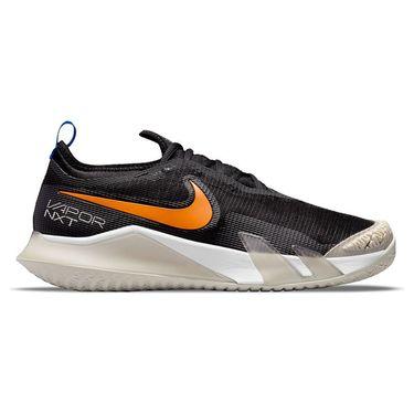 Nike Court React Vapor NXT Mens Tennis Shoe Black/Sunset/Light Bone/White CV0724 003
