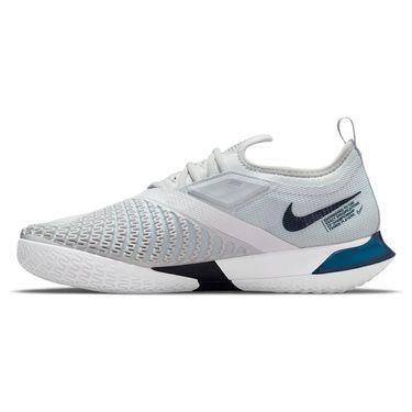 Nike Court React Vapor NXT Mens Tennis Shoe Pure Platinum/Obsidian/White CV0724 007