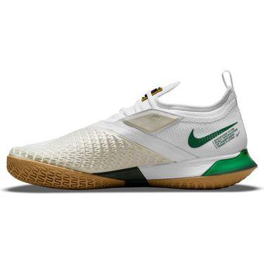 Nike Court React Vapor NXT Mens Tennis Shoe White/Gorge Green/Summit White/Wheat CV0724 114