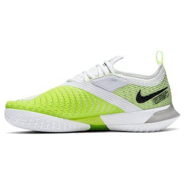 Nike Court React Vapor NXT Womens Tennis Shoe Grey Fog/Black/White/Volt CV0742 001