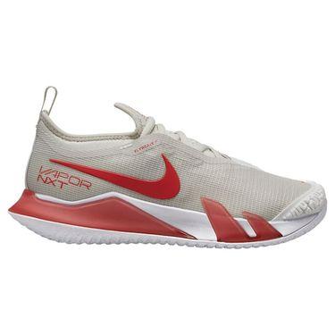 Nike Court React Vapor NXT Womens Tennis Shoe Light Bone/Lobster/White CV0742 003