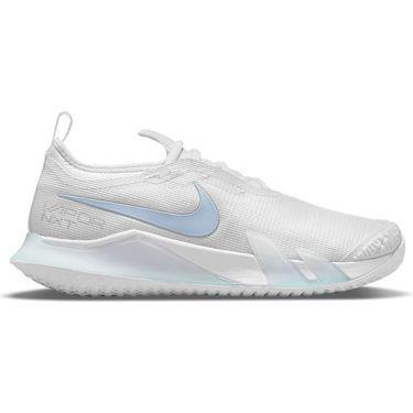 Nike Court React Vapor NXT Womens Tennis Shoe White/Aluminum CV0742 111