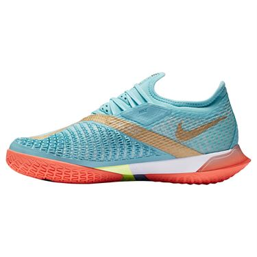 Nike Court React Vapor NXT Womens Tennis Shoe COPA/Metallic Gold/Bright Mango/White CV0742 400