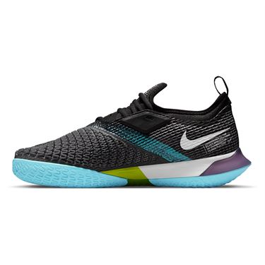 Nike Court React Vapor NXT Womens Tennis Shoe Dark Raisin/White/Black/COPA CV0742 524