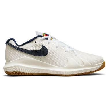 Nike Court Junior Vapor Pro Tennis Shoe Summit White/Binary Blue/White/Sail CV0863 133