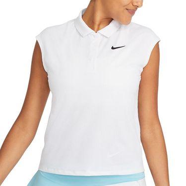 Nike Court Victory Top Womens White/Black CV2473 100