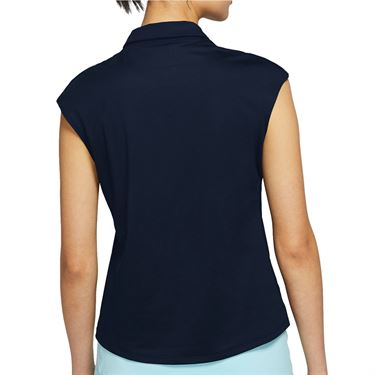 Nike Court Victory Top - Obsidian/White